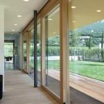 Drzwi podnoszono-przesuwne drewniane